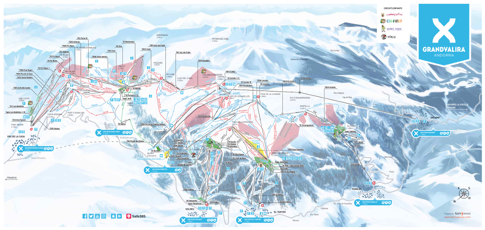 andorre ski